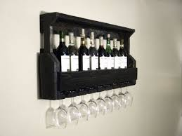 black wine cabinet. Best 25 Unique Wine Racks Ideas On Pinterest Rustic With Regard To Black Rack Idea 13 Cabinet