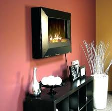 ed infrared wall mount fireplace heater