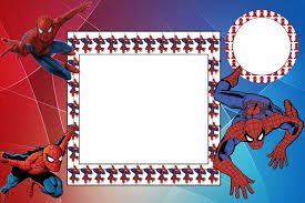 spiderman party free printable invitations labels or cards