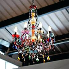 gypsy chandelier small small gypsy chandelier lamp multi coloured chandelier full image for small gypsy chandelier