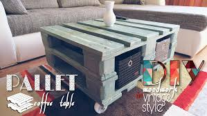 Diy Pallet Coffe Table With White Wash Paint InstructionsPallet Coffee Table Diy