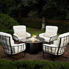 wrought iron garden furniture. Image Of: Outdoor Garden Set Of Round Wrought Iron Patio Furniture Inside