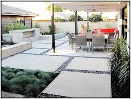 Concrete Patio Designs Layouts Colored Concrete Patios