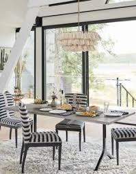grland stripe dining chair