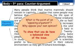 argumentative essay format and language use 8