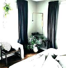 curtains for a black and white bedroom – maotun.co