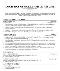 Logistics Manager Cover Letter Cover Letter Samples