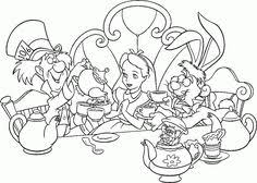 Small Picture Images For Alice In Wonderland Coloring Pages Caterpillar