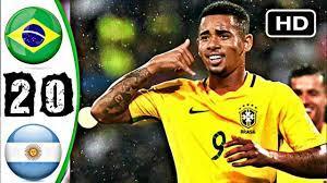 اهداف مباراة الارجنتين والبرازيل 0-2 - Brazil vs Argentina 2-0 Highlights -  YouTube
