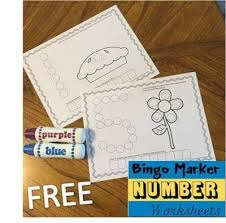 Easy for you because all you have to do is print and sit back. Free Counting Do A Dot Printables