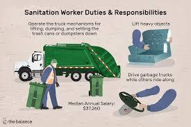 Sanitation Worker Job Description Sanitation Worker Job Description Salary Skills More