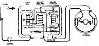 alternator wiring diagrams and information brianesser com typical internally regulated alternator