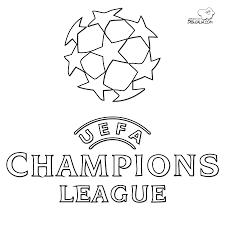 Logo Uefa Champions League Da Stampare E Da Colorare Disegni Da