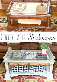 coffee table makeover table makeover before and after wooden coffee table makeover