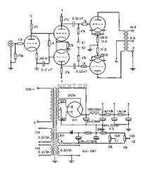 watt single ended vacuum tube amplifier audio  vented tube amplifier circuit diagram vacuum tube valves circuits