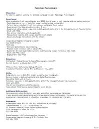 Medical Technologist Resume Template Resume Sample Directory