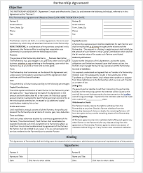 A partner shall be free of liability to the partnership where the partner is prevented from executing their obligations under this agreement in whole or this brand ambassador contract pdf template contains the basic and essential elements in a brand ambassador contract between the company. 21 Free Partnership Agreement Templates Ms Office Documents