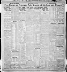 St. Louis Post-Dispatch From St. Louis, Missouri On August 20, 1910 ...