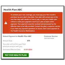 Screen shot of Enroll To Do List displaying the  quot Pay for your HealthCare gov