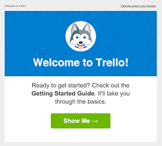 welcome email template 10 beautifully designed welcome emails for your inspiration