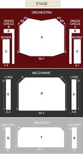 Harry Potter Broadway Seating Chart Devos Performance Hall Grand Rapids Mi Seating Chart