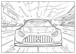 These are animated films from pixar (disney) featuring anthropomorphic cars, ie with human characteristics. Audi And Mercedes Release Coloring Pages To Battle Quarantine Boredom Business Insider