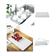kitchen sink with drip tray water drip tray smart home kitchen tray draining basket draining rack