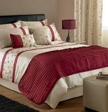 stunning cream red gold embroidered cotton super king size quilt regarding super king bedding sets uk