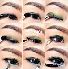 asian eye makeup with how to put on eye shadow