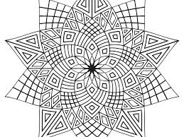 Small Picture Advanced Coloring Pages Geometric Coloring Pages