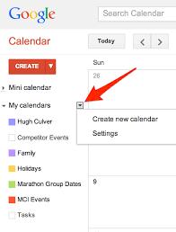Organize Your Life With Multiple Google Calendars Hugh Culver