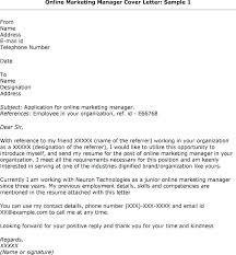 Application Letter Cover Cover Letter For Online Application Sample