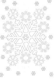 Snowflake To Color Snowflake Mandala To Color Mandala Mandalas And