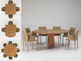 expandable round dining table photo