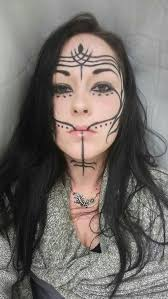Image result for sexy facial tattoo