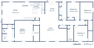 Floor Plans For New Homes Cool Floor Plans For Homes  Home Design Floor Plan Homes