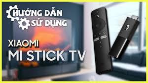 Đầu Thu Android TV Box Xiaomi Mi TV Stick Đen - Chính hãng, giá rẻ