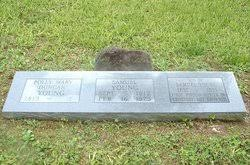 """Mary """"Polly"""" Duncan Young (1814-1884) - Find A Grave Memorial"""