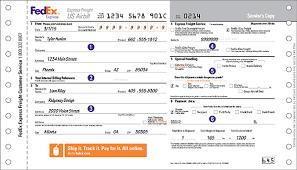 FedEx Express Freight US Airbill