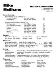 Electrician resume for a job resume of your resume 20