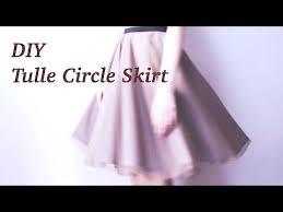 diy tulle circle skirt sewing tutorialㅣmadebyaya