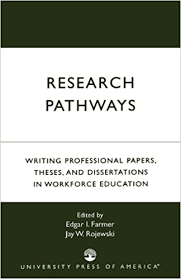 research pathways writing professional papers theses and  research pathways writing professional papers theses and dissertations in workforce education edgar i farmer jay w rojewski edwin l herr