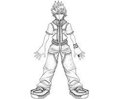 Small Picture Kingdom Hearts Roxas Characters Yumiko Fujiwara