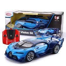 1/14 scale radio control bugatti chiron. Amazon Com Ycco All Terrain Super Large Bugatti Rc Car 1 12 Scale Bugatti Veyron Grand 39 5cm Sport Vitesse Radio Remote Controlled Model Toy Car Boy Girls Birthday Toy For Kids Gift Blue
