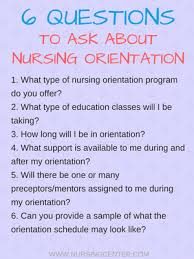 nurse unit manager interview questions nursing orientation what to know for your job search