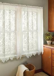 Lace Window Treatments Dogwood Curtains By Heritage Lace