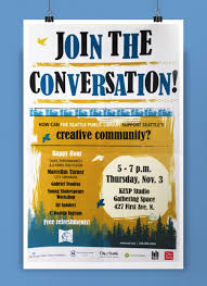 How To Design A Community Poster Event Design Community Engagement On Behance