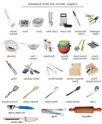 kitchen utensils list. Kitchen Utensils List With Pictures And Uses