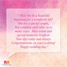 Wedding Wishes Quotes Cool Marriage Wishes Quotes 48 Beautiful Messages To Share Your Joy
