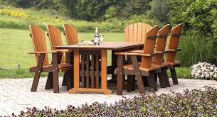 maintenance free outdoor furniture log home furniture